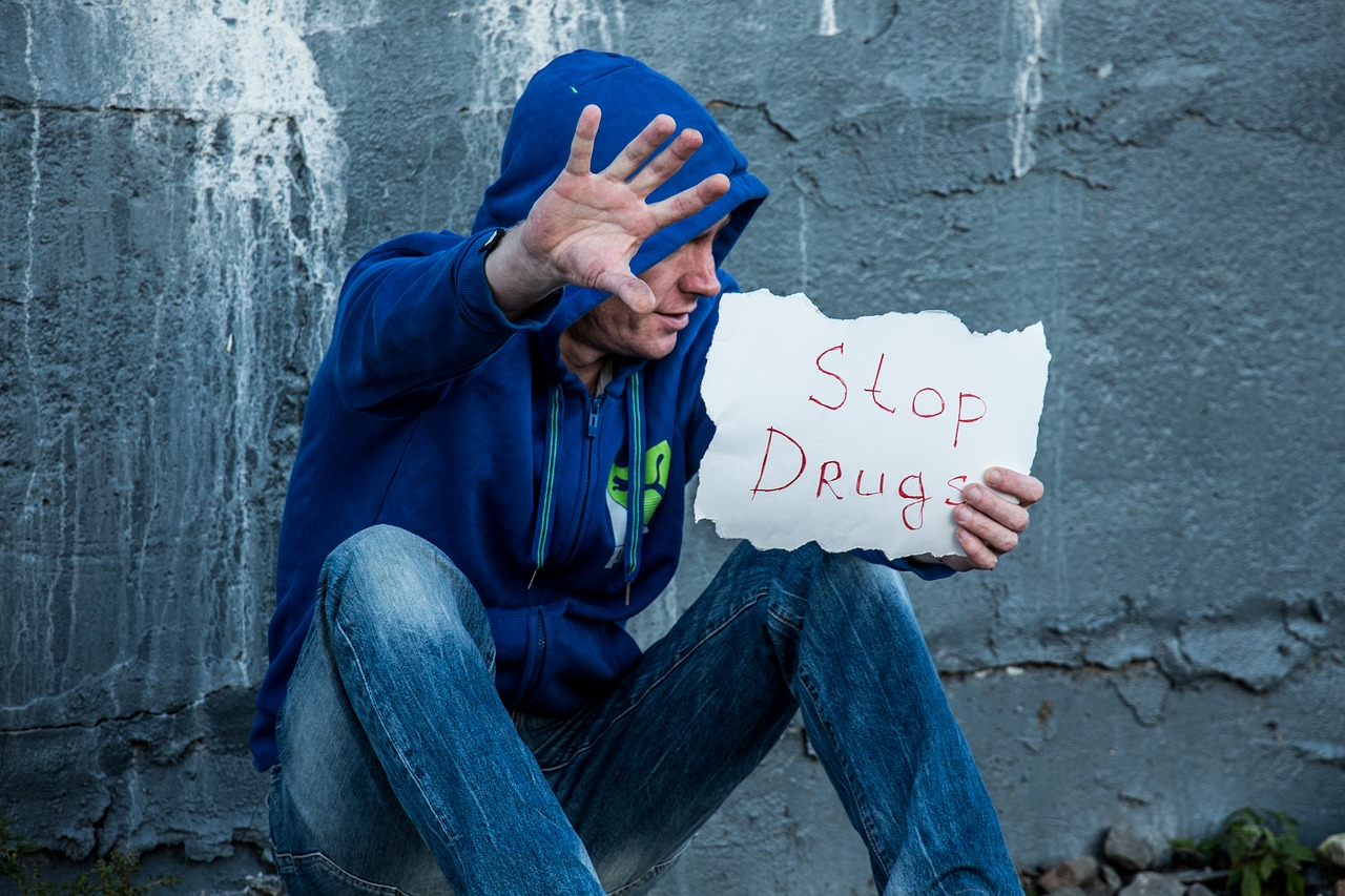 stop, drugs, addict